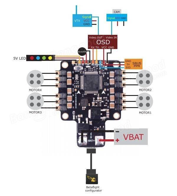 Pre Order Betaflightf3 Flight Controller Mini Quad Hq Mini Flight Controllers Fpv Model Rc Plane Multicopter Qua Diy Drone Drone Quadcopter Drone Design