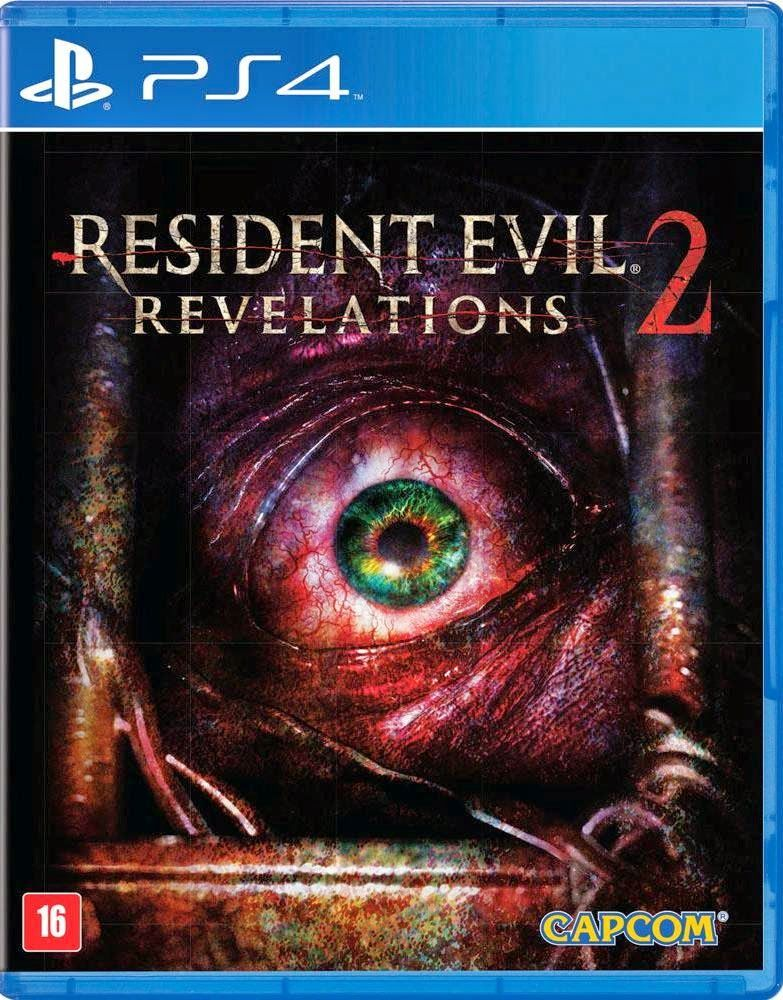 Resident Evil Revelations 2 Playstation 4 Video Games Covers