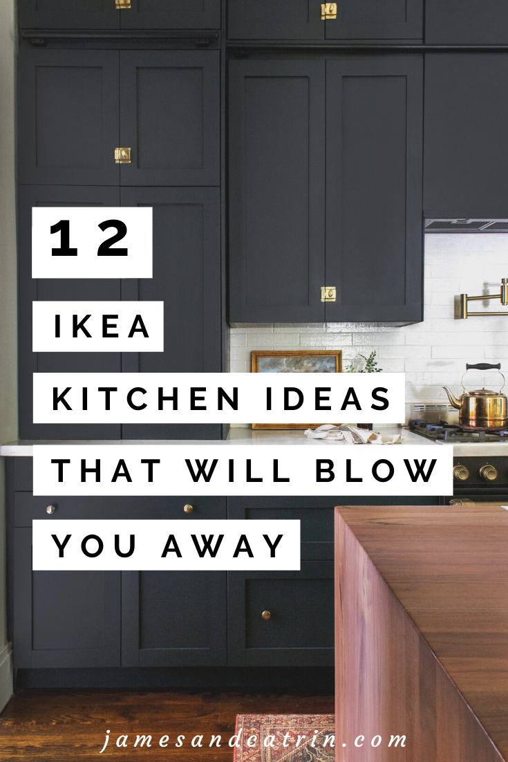 12 Gorgeous Ikea Kitchens With And Without Hacks James And Catrin Ikea Kitchen Remodel Black Ikea Kitchen Kitchen Design Small