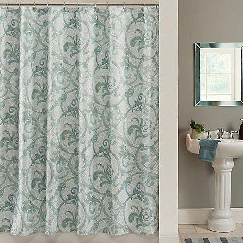 Savona 72 Inch X 96 Shower Curtain In Blue