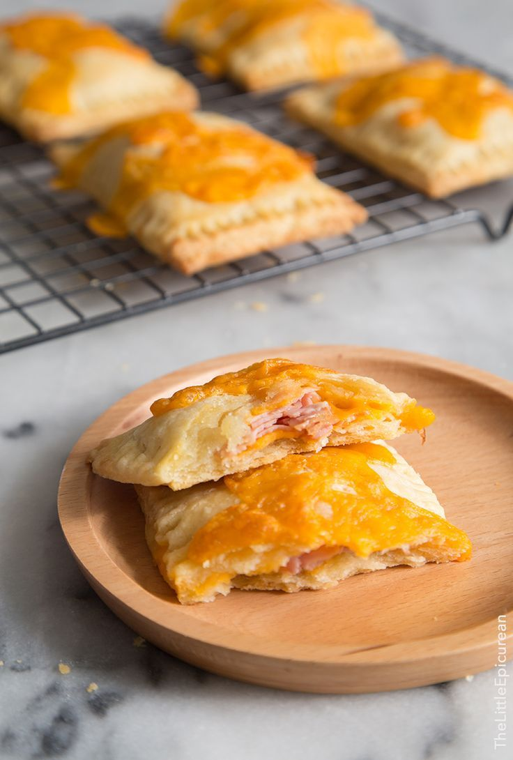 Ham and cheese breakfast tarts the little epicurean