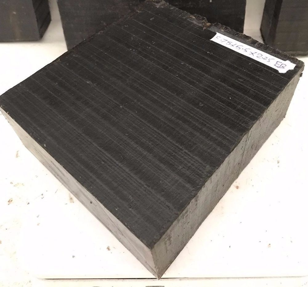 Ebony lumber