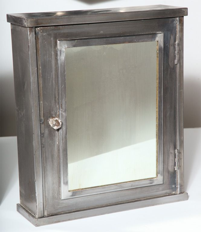 Restored Vintage Industrial Medicine Cabinets
