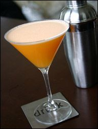 Creamsicle, it's dangerous! Just mix Whipped Cream Vodka (Smirnoff), orange juice, and Sprite or 7up