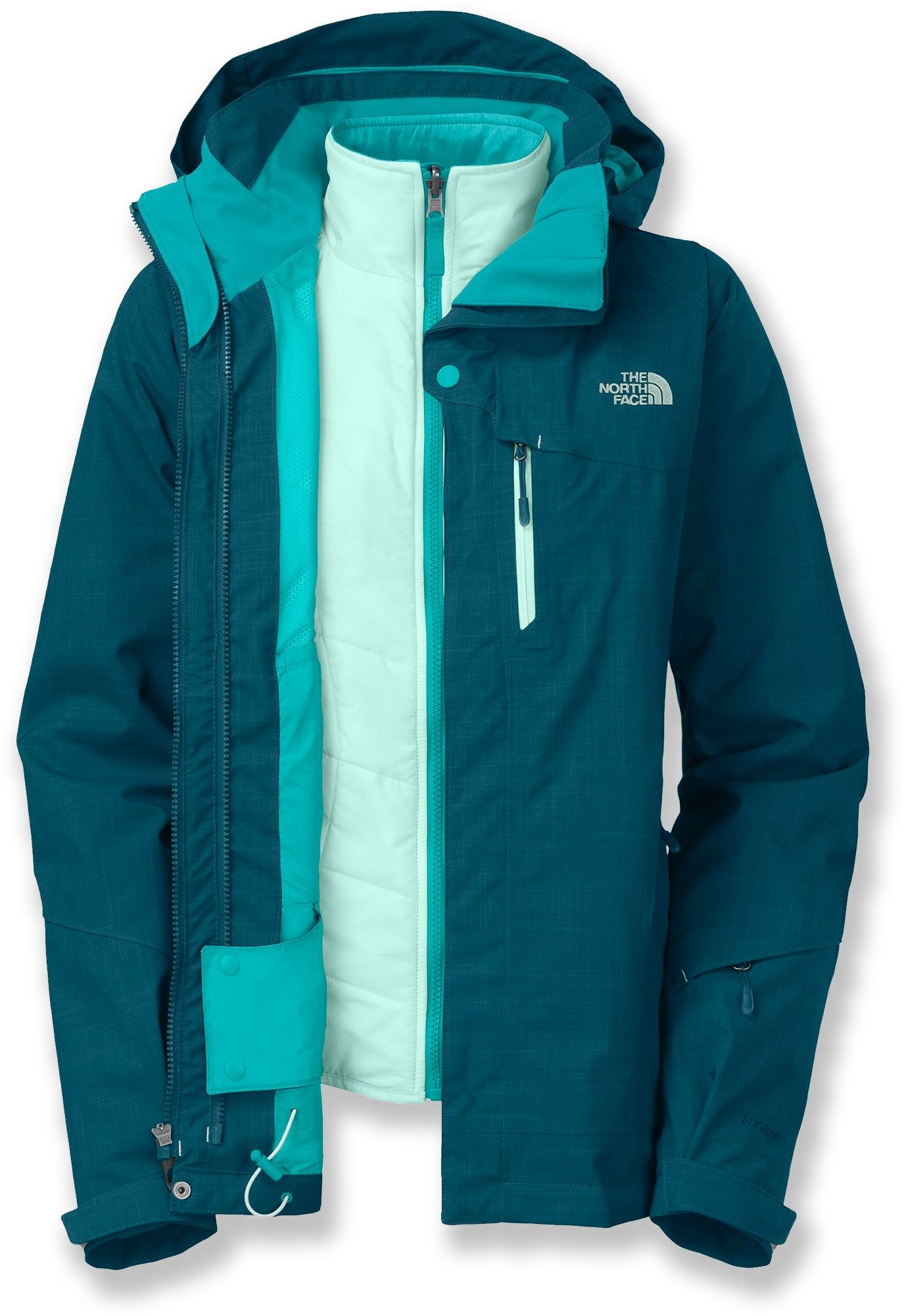d7c62ae186b8 Stylish and versatile—The North Face Cheakamus Triclimate 3-in-1 Insulated  Jacket - Women s.  REIGifts