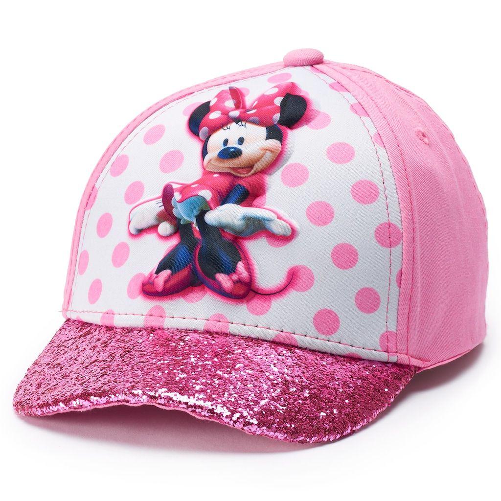 Disney Girls Minnie Mouse Sun Hat White