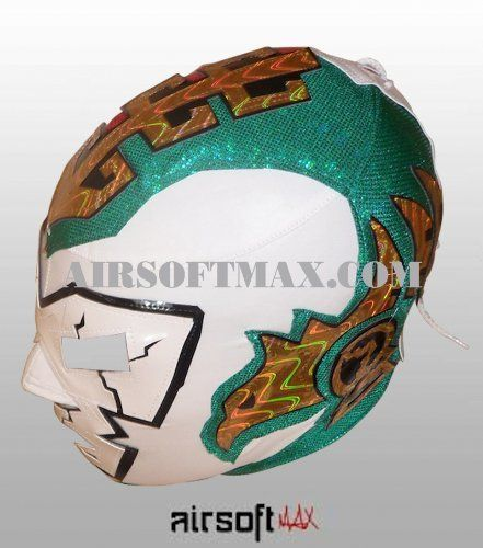 Dr. Wagner Jr. Mexican Pro-Wrestling Lycra Mask - Red/Green by Airsoftmax. $34.99. Mascara de el Luchador Dr. Wagner Jr. -Licra. Great Quality!. Made in Mexico. Green/Red  Lycra. Dr. Wagner Jr. Mexican ProWreslting Lycra Mask. Dr. Wagner Jr. Mexican Pro-Wreslting Lycra Mask Made in Mexico  Lycra