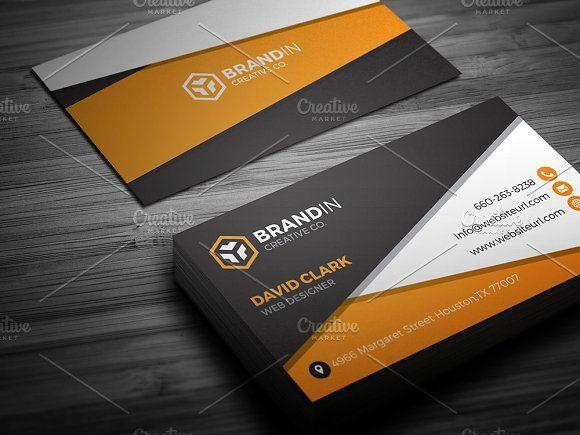 Orange business card template card templates business cards and orange business card template reheart Gallery