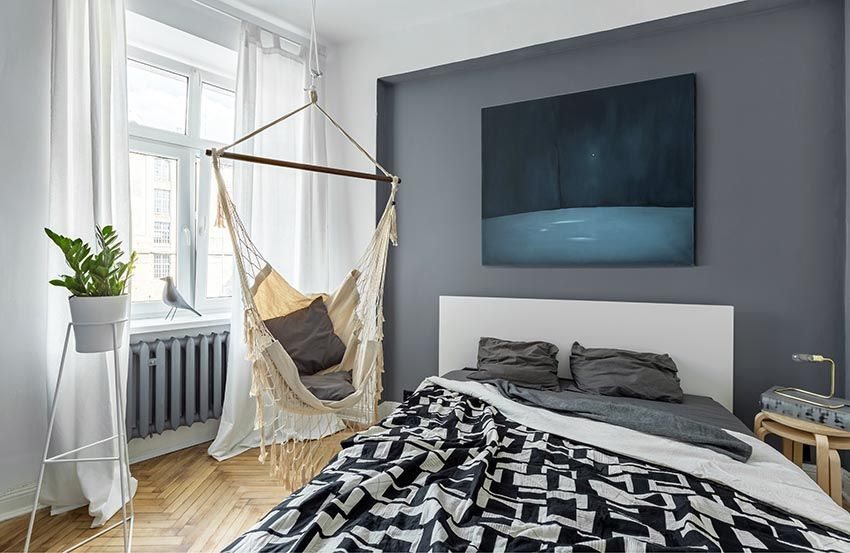 Cool teen bedroom with hanging hammock and dark color theme ... Bedroom Decorating Ideas For Teens W Hammock on construction ideas for teens, bedroom colors, bedroom pillows for teens, living room for teens, gardening for teens, cool bedrooms for teens, creative bedroom ideas for teens, bedroom ideas easy and cheap, green bedroom ideas for teens, bedroom light colour, bedroom storage ideas for teens, luxurious bedrooms for teens, bedroom mirrors for teens, small bathroom for teens, bedroom furniture for teens, bedroom art for teens, bedroom decoration for teenage girls, home office desk for teens, bedroom paint for teens, dream bathroom for teens,