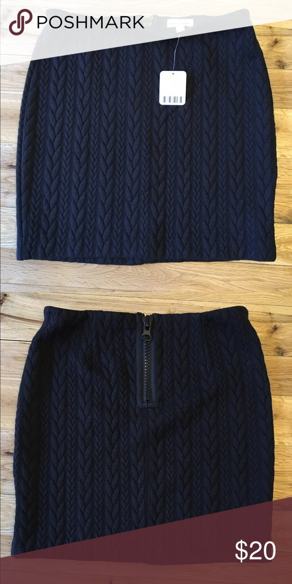 81d047c73cd6 Silence & Noise zip skirt, Small | Mini skirt style, Mini skirts and ...