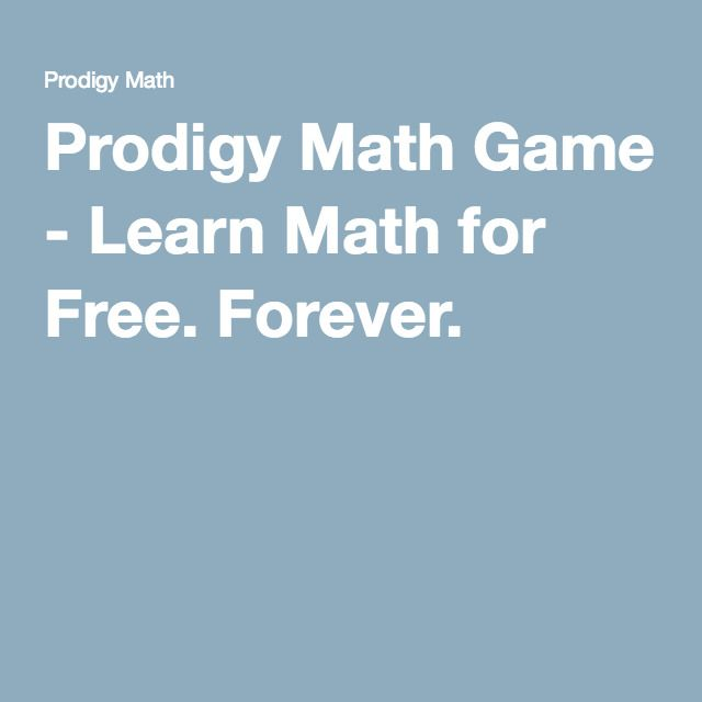 Prodigy Math Game - Learn Math for Free  Forever  | Homeschooling