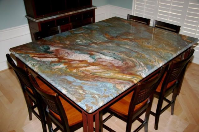 Van Gogh Granite Slab Re Blue Louise Or Louise Blue