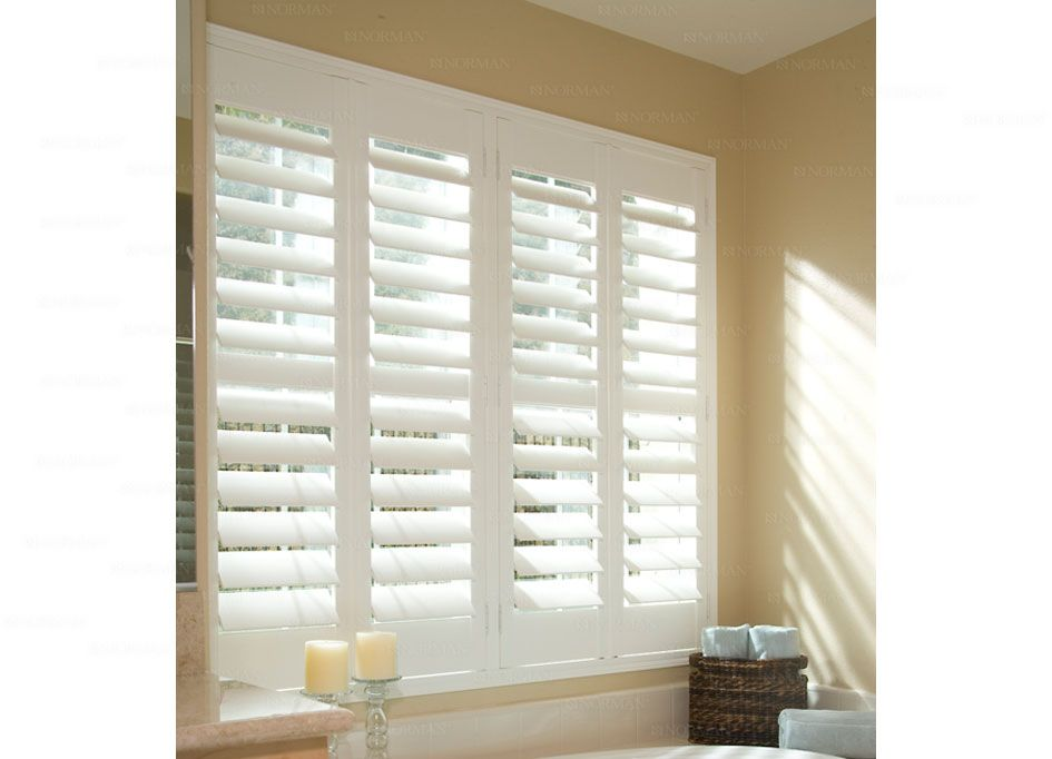 Norman Shutters Handcrafted Wood Composite Shutters Bathroom Pinterest Wood Composite