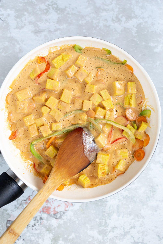 Soyfree Tofu Stir fry with Sunbutter Sauce Recipe Soy