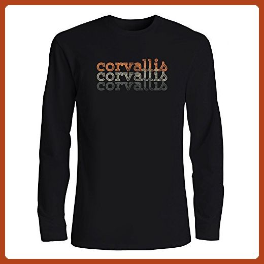 Idakoos - Corvallis repeat retro - US Cities - Long Sleeve T-Shirt - Retro shirts (*Partner-Link)