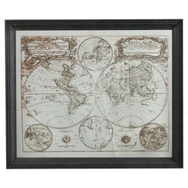 Mappe Monde Wall Decor