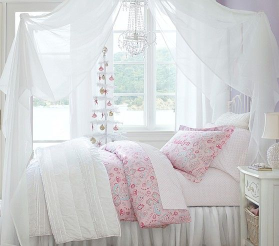 Emma Iron Bed Amp Curved Canopy Twin Room Girl Room Kid