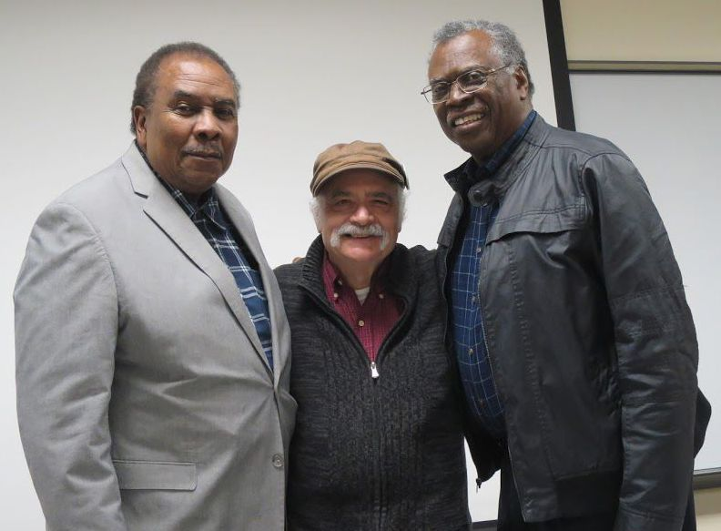 Morris Fried (center), vice president of SCLC Collin