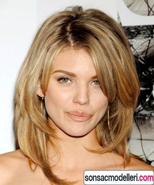 Orta Boy Katli Sac Kesimleri Orta Uzunlukta Sac Modelleri Uzun