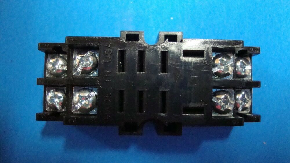 eBay #Sponsored NTE Relay Socket R95-121 8 PIN MIDGET BLADE ... on