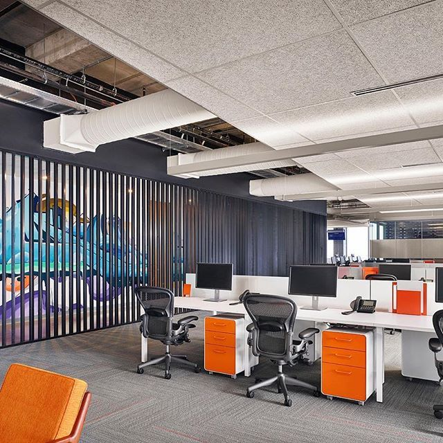 #officedesignlife Graffiti To Excite The Workplace