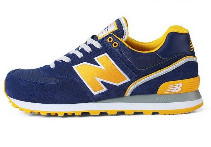 new balance 574 jaune