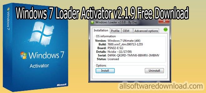 windows loader for window 7 free download