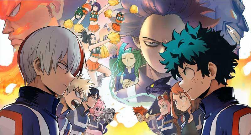 Boku No Hero Academia Ultimate Edition Jpg 800 430 My Hero Academia Manga Best Anime Shows My Hero