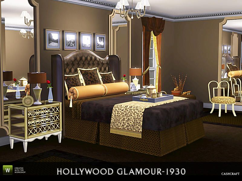 Bedroom Designs Sims 3 cashcraft's hollywood glamour 1930s | the sims 3 residential