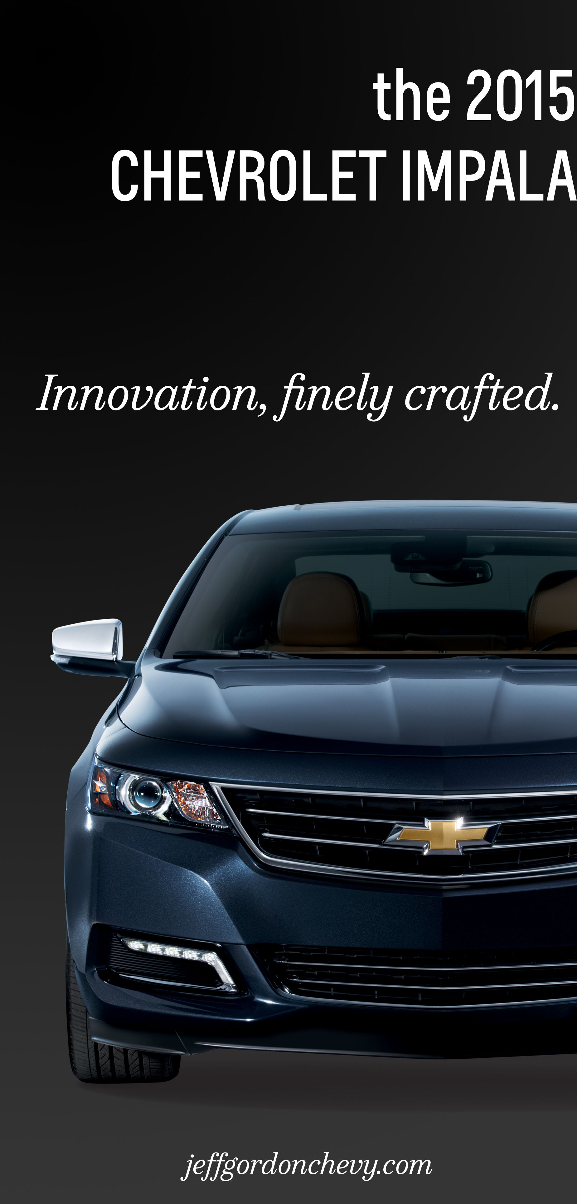 The 2015 Chevrolet Impala Innovation Finely Crafted Chevrolet Impala Chevrolet Impala