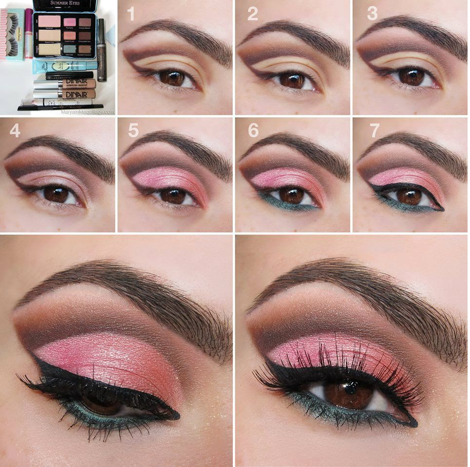 pink eyeshadow Google Search Summer eye makeup, Spring