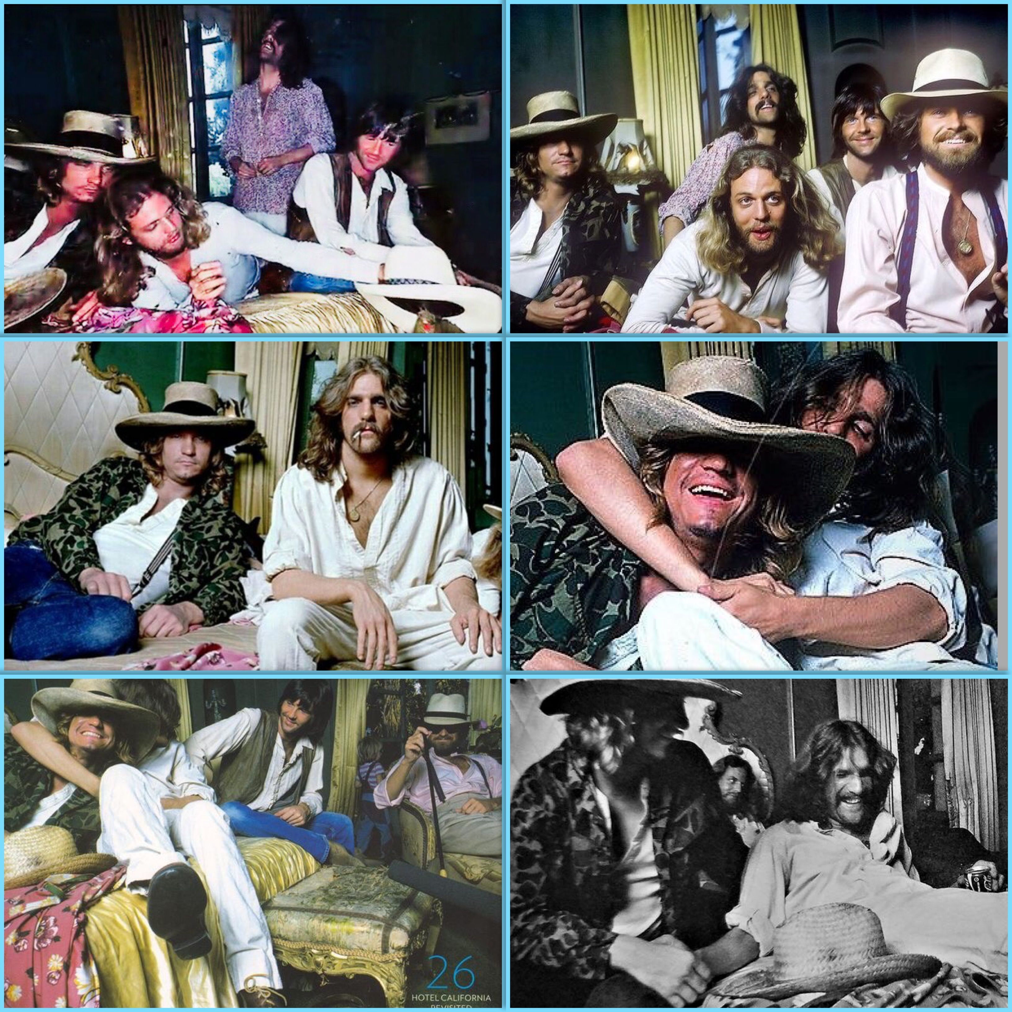 Eagles Hotel California Photo Shoot 1976 With Images Eagles