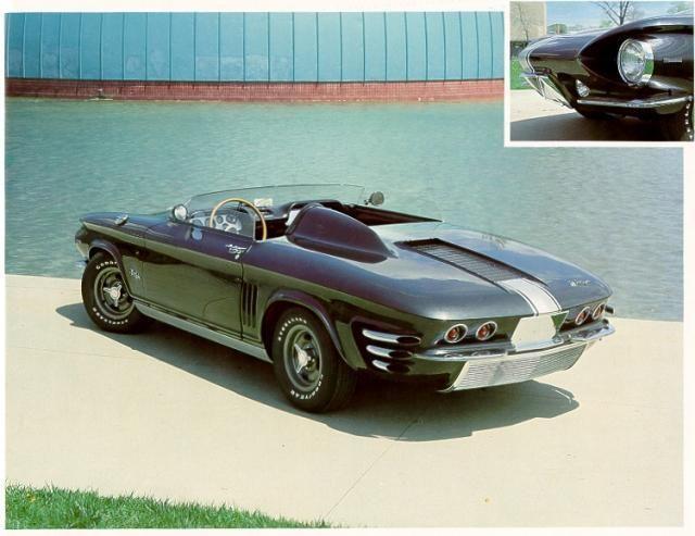 1962 Chevrolet Corvair Sebring Spyder