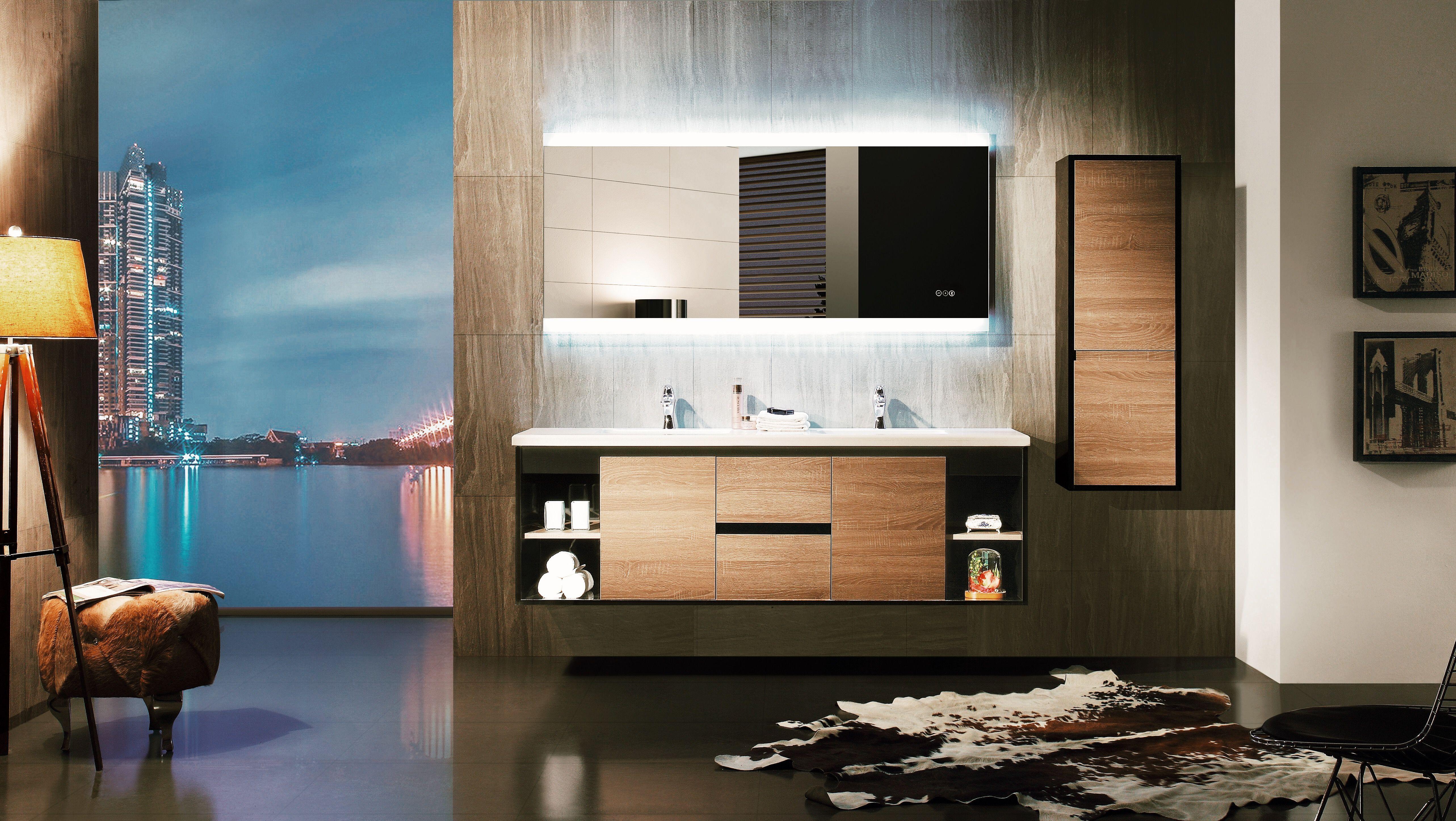 Fantastic Photographs Long Bathroom Mirror Ideas In 2020 With