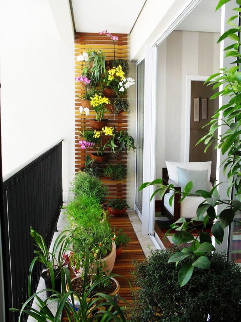 den balkon einrichten: 20 vorschläge für einen schönen balkonbelag, Gartengerate ideen