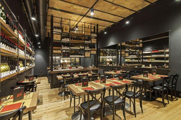 Arredamento Bistrot ~ Baccanale restaurant by afa arredamenti roma u2013 italy restaurant