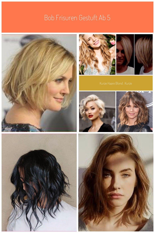 Bob Frisuren Gestuft Ab 50 Frisuren Blonde Halblange Haare Stufenschnitt Halblan Halblang Haare Blond In 2020