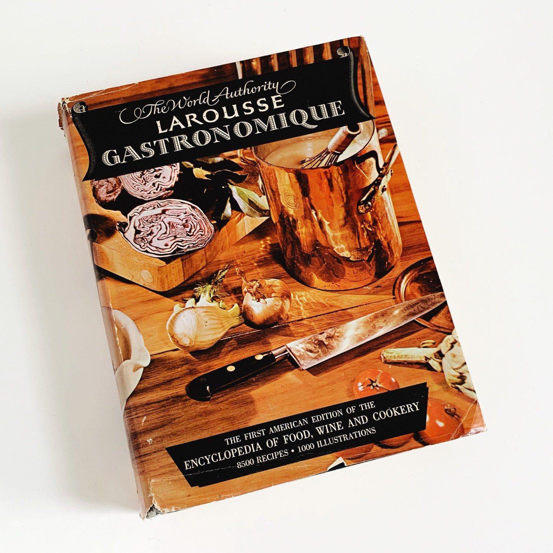 Vintage 1960s Cookbook, Larousse Gastronomique 1961 HCDj