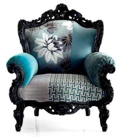 Sillones sillas y sof s resucitados con telas muebles decoraci n pinterest diy y - Sillones antiguos restaurados ...