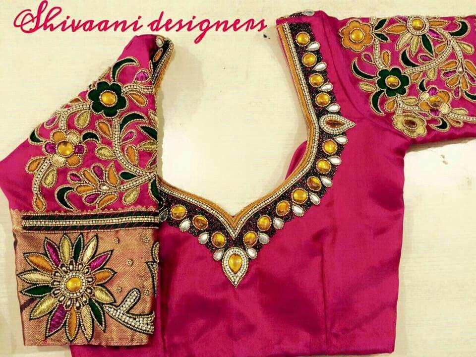 Pin de Pavani Raavi en work blouse   Pinterest