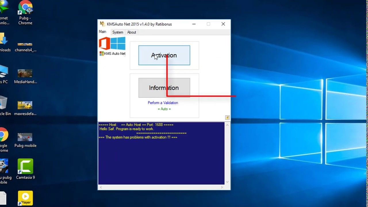 Activate All Windows Versions in One Click With KMSAUTO