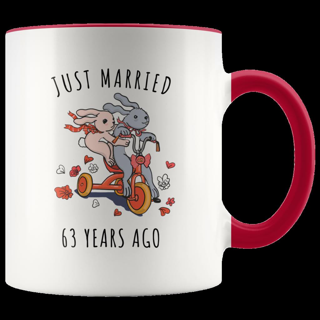 63rd Wedding Anniversary Gift