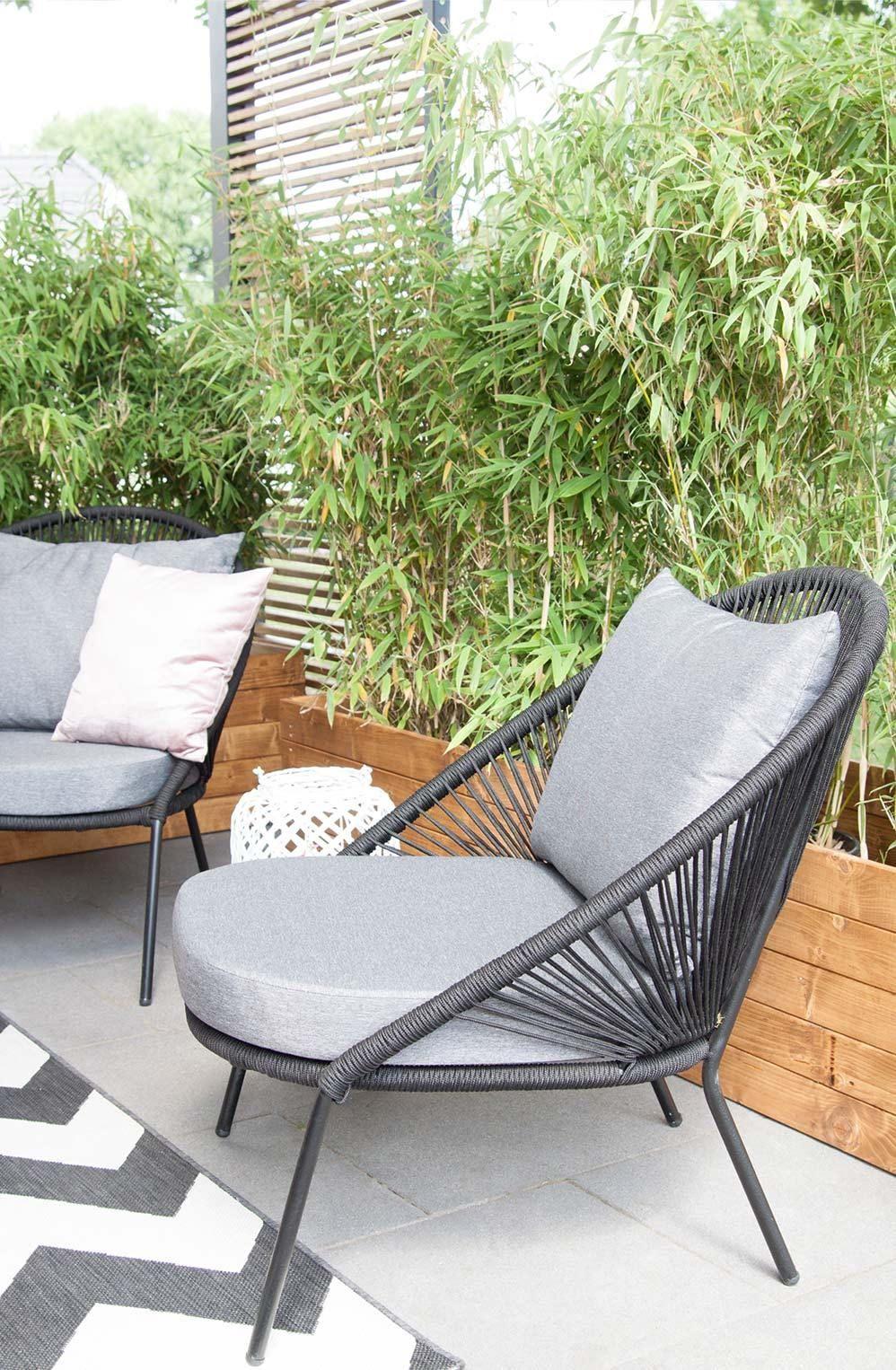 Terrassen Makeover Superschone Neue Loungemobel Lounge Sessel