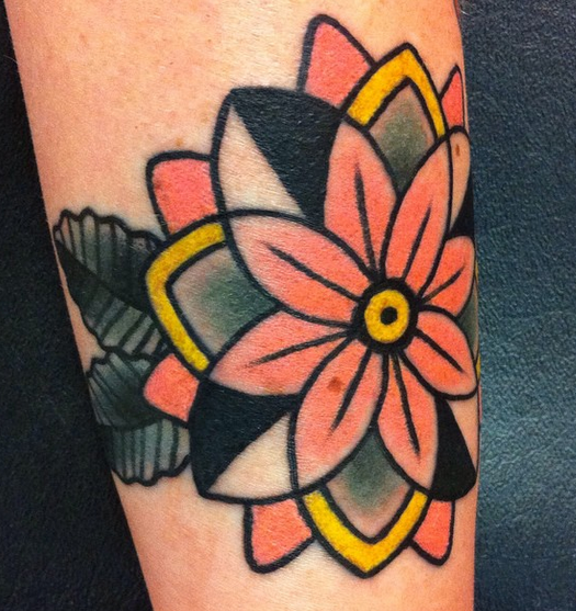 Geoflower Tattoo