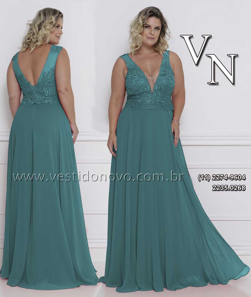 Vestido Plus Size Mae Do Noivo Madrinha De Casamento Da Loja