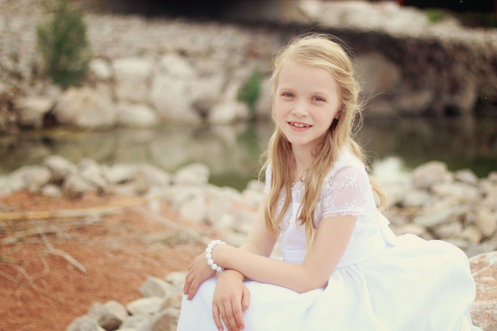 Abish Tatum Photography - baptism pictures - 8 year old girl ...