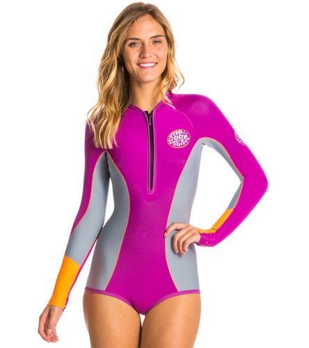 c330450c9d Rip Curl Women s G-Bomb 1MM Long Sleeve Booty Spring Suit Wetsuit ...