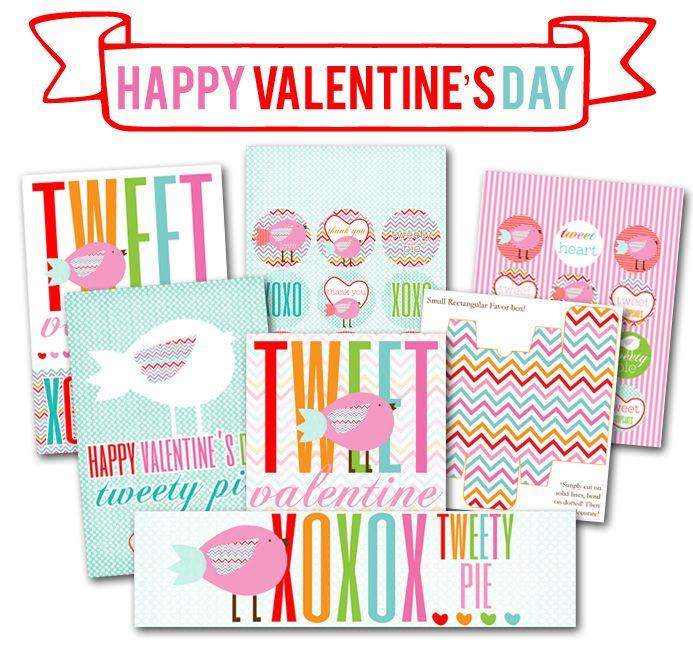 FREE Valentine's Day Printables | Carte a imprimer, Saint valentin, Valentine