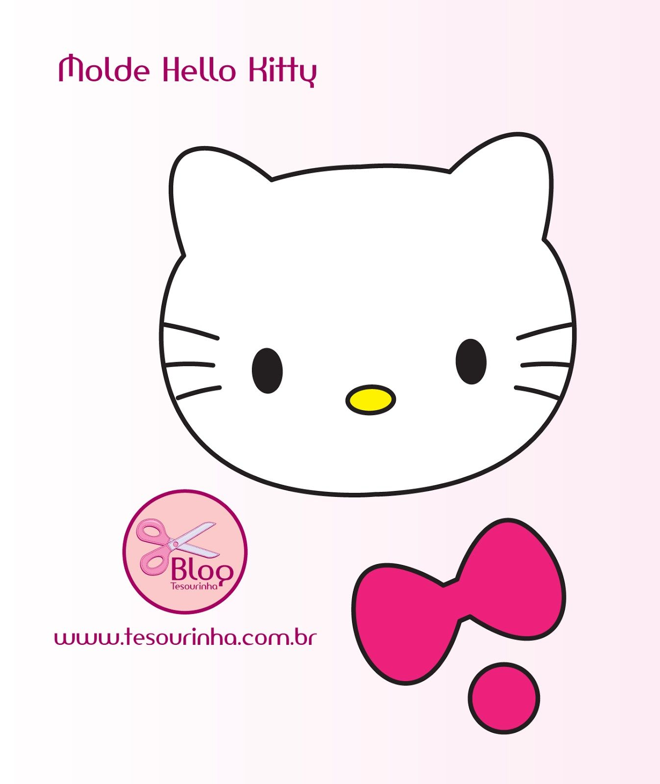 moldes de fieltro | Kitty, Hello kitty and Molde