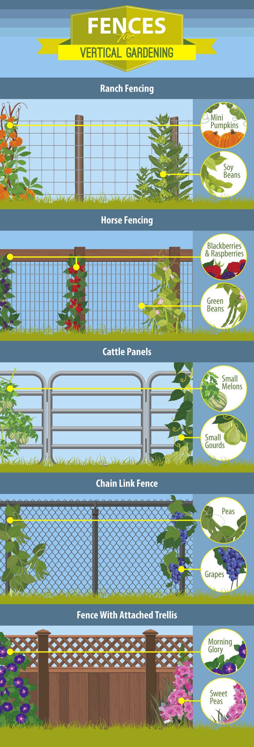 Fence Guide Choosing the Best Fence for Your Garden and PropertyChoosing the Best Fence for Your Garden and Property is part of Vertical garden Fence - Fencing should be a big part of your garden design plan  Fences are an important aspect; they keep your plants safe and add character to your yard  Follow this guide and get to planning your fence today!